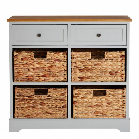 Vermont Two Drawers Four Baskets Cabinet