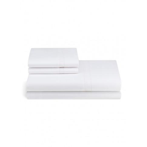 Doppio Ajour King Size Duvet Set - White
