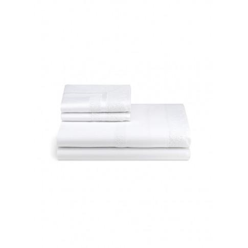 Macramé Lace Queen Size Duvet Set - White