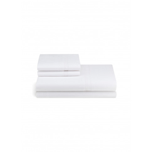 Doppio Ajour Queen Size Duvet Set - White