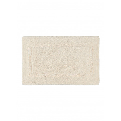 Super Pile Small Reversible Bath Mat - Ecru