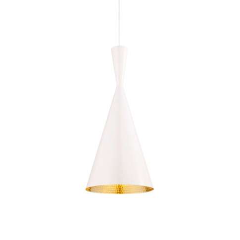Beat Tall Pendant Light - White