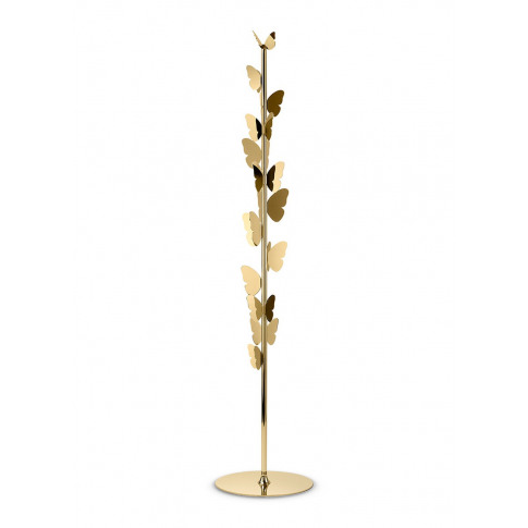 Butterfly Coat Rack - Polished Gold