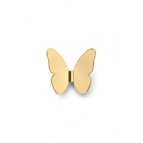 Butterfly Coat Hook - Polished Gold