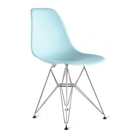 Eames Moulded Armchair - Aqua Sky