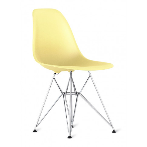 Eames Moulded Armchair - Pale Yellow