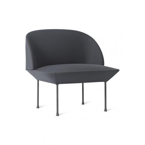 Oslo lounge chair - Dark Grey
