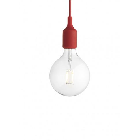 E27 Pendant Lamp - Red