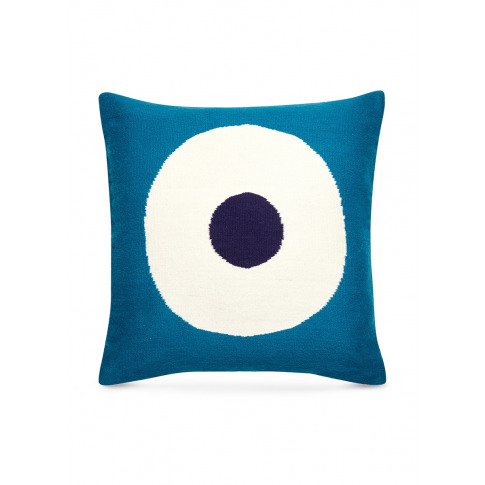 Lucky Strike Pop Cushion - Turquoise