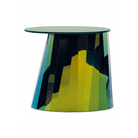 Pli Low Side Table - Topas Green