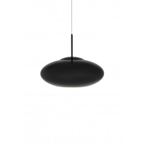 Copper Wide Pendant Light - Black