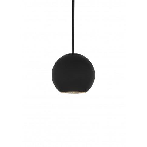 Copper Small Round Pendant Light - Black