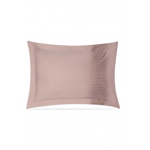 Vintage Modern Pillowcase Set - Burgundy On Onion
