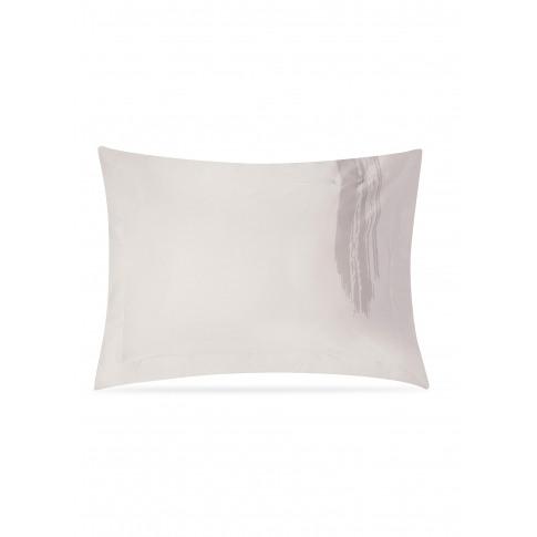 Artisan Pillowcase Set - Grey On Beige