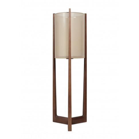 Lantern Floor Lamp - Dark Brown