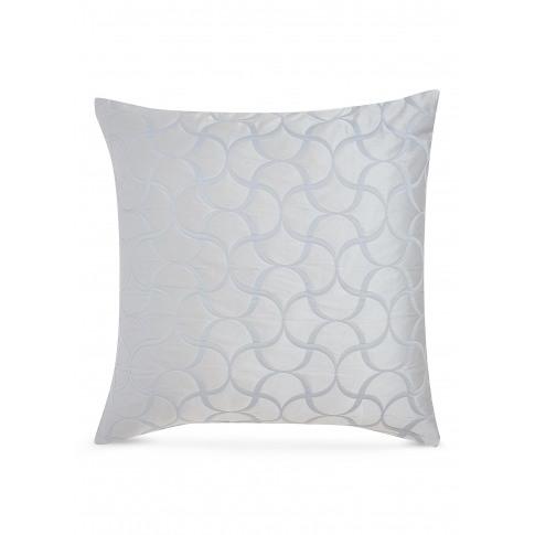 Tile Cushion Cover - Light Blue