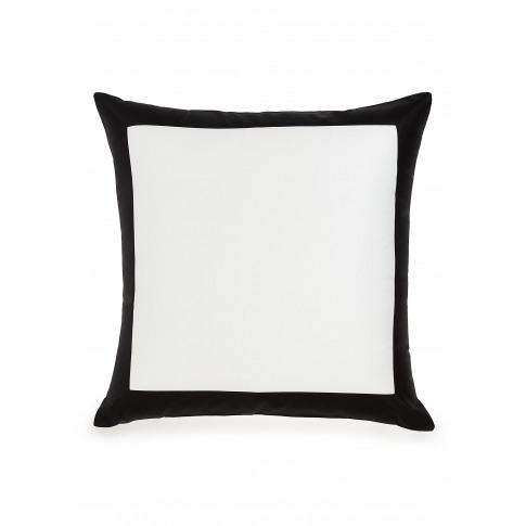 Bold Cushion Cover - Milk/Black