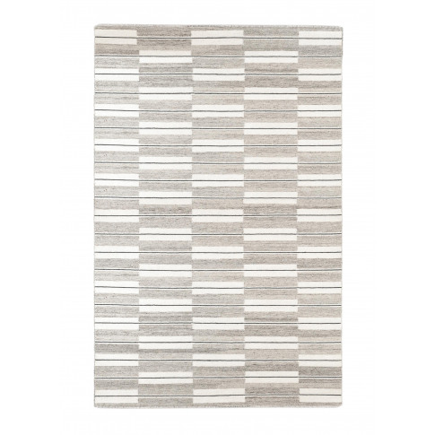 Spindle Large Rug - Warm Grey
