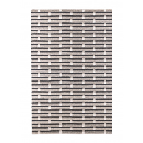 Purlin Large Rug - Warm Grey