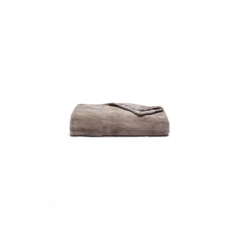 Mink Fur Throw - Slate Grey