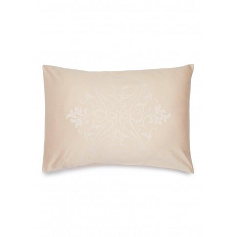 Medallion Heart Pillowcase - Powder Pink