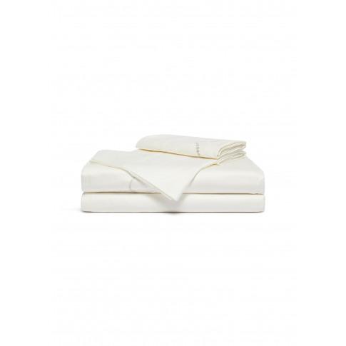 Luminescent Pearl Queen Size Duvet Set - Milk/Silver
