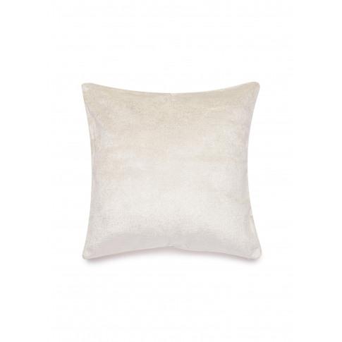Shimmer Velvet Cushion - Silver