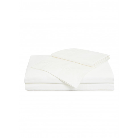 Doppio Ajour Queen Size Duvet Set - Milk