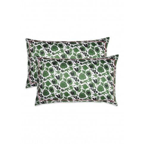 Pillowcase Set - Wildbird Verde Small