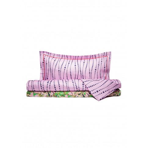 Queen Size Duvet Set - Perle Pale Pink/Carnevale Pal...