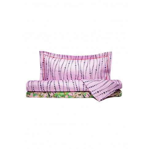 King Size Duvet Set - Perle Pale Pink/Carnevale Pale...