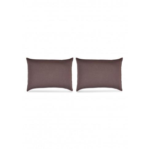 Miro Pillowcase Set - Cacao