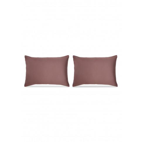 Peach Pillowcase Set - Cacao