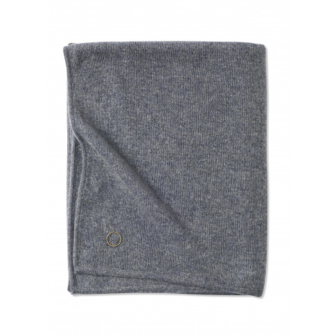 Cashmere Travel Blanket - Grey