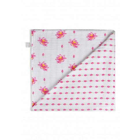 Organic Reversible Snug Blanket - Lotus
