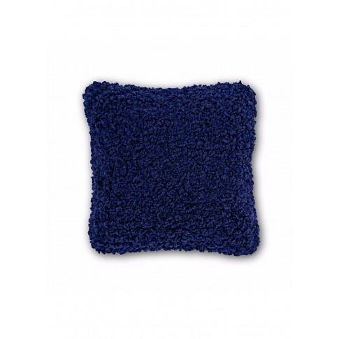 Boucle Cushion - Electric Blue