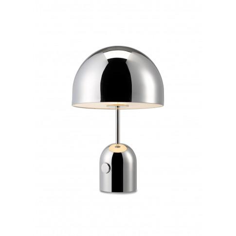 Bell Table Light Chrome