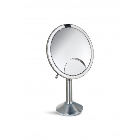 Trio View Sensor Mirror - Brushed Silver