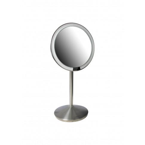 Sensor Mirror - Brushed Silver