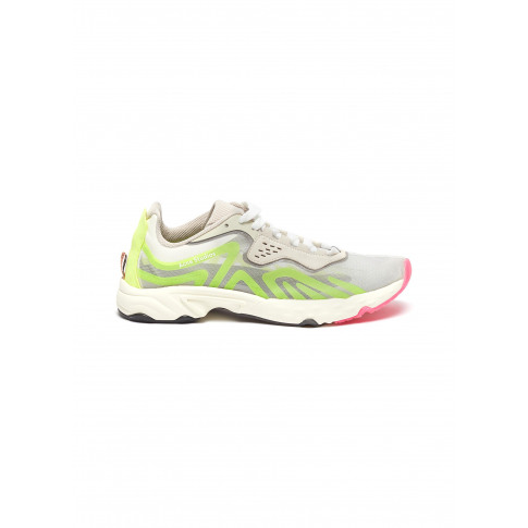 Cushioned Sole Trail Sneakers