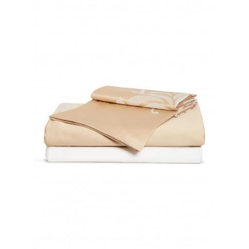 Lotus King Size Duvet Set - Sandstone