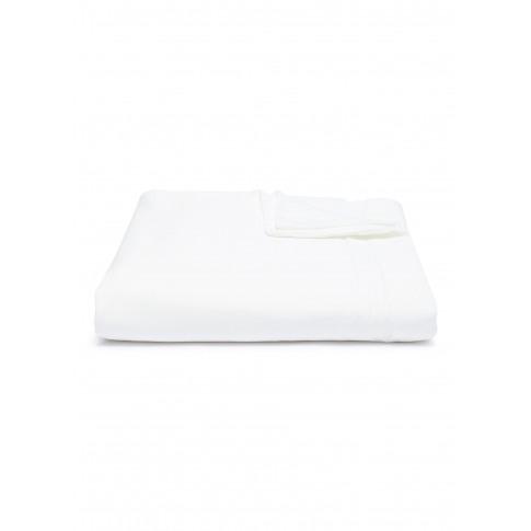Saten Queen Size Duvet Cover - White
