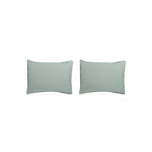 Saten Pillowcase Set - Agave
