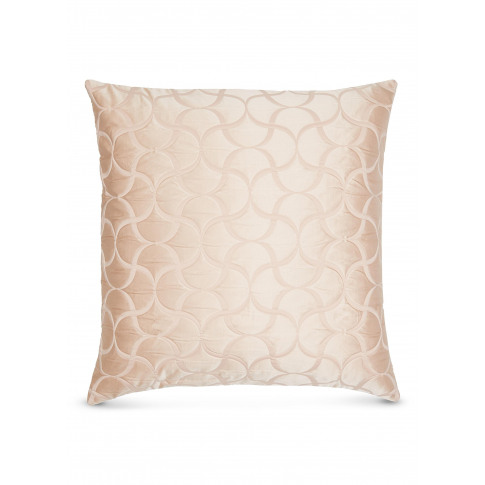 Luxury Tile Cushion - Powder Pink