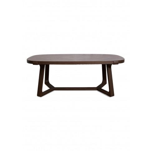 Interlock Oval Oak Wood Dining Table