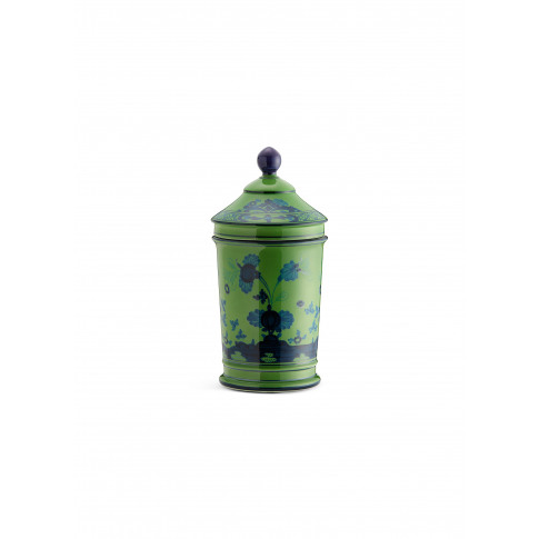 Oriente Italiano Porcelain Pharmacy Vase With Cover ...