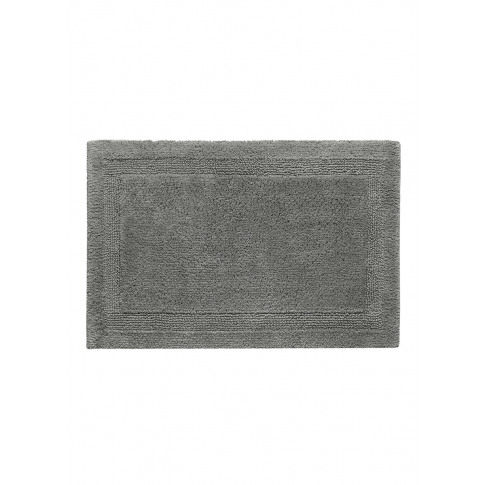Super Pile Small Reversible Bath Mat - Gris