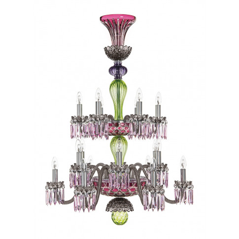 Arlequin 18-light chandelier
