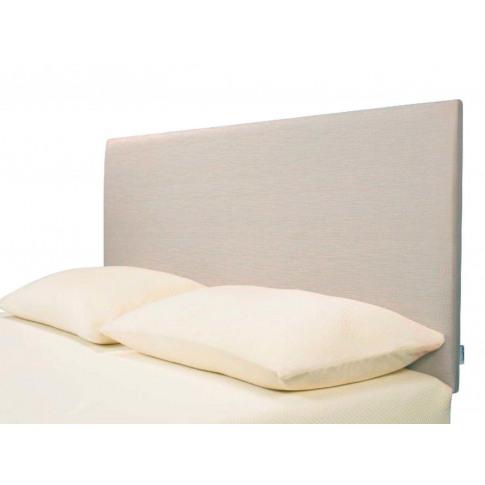 Tempur® Ardennes Plain Headboard (Single) - Single 90cm (3') - Steel