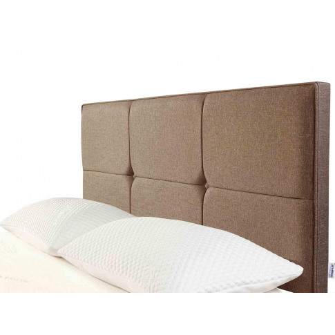 Tempur® Ardennes Buttoned Headboard (Small Double) -...
